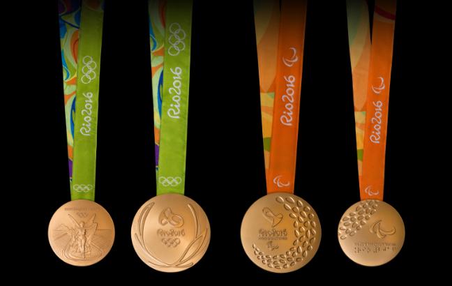 Frente e verso das medalhas dos Jogos Olímpicas e Paralímpicos (Rio 2016/Alex Ferro)